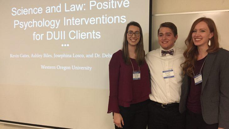 Western Oregon University Team Presentation